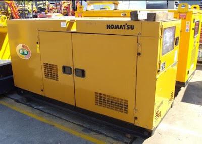Máy phát điện Komatsu 750kva – 2000kva