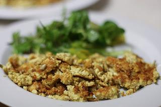 golden tofu roast
