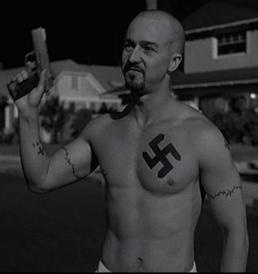 the two sides of racism in american history x a movie by tony kaye , the shawshank redemption (1994), cell 211 (2009), american history x (1998 'american history x' (tony kaye prison for killing two young black.