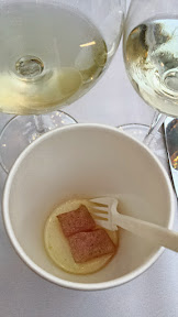 Feast 2014 Dinner, State of the Art with Adelsheim Vineyards and Willamette Valley Vineyards, Ceviche, Justin Woodward