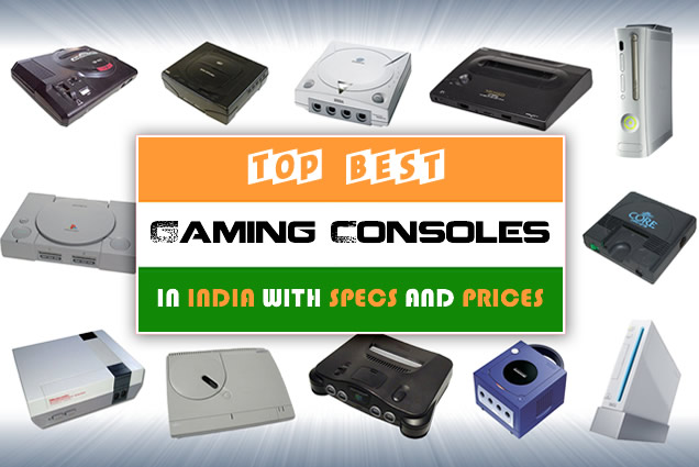 Top Best Gaming Consoles in India with Prices, Specs and Features