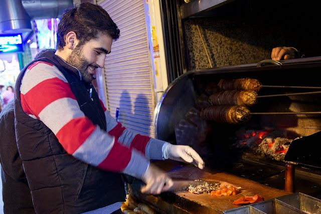 Kokoreç. From Best Street Foods in Istanbul, Turkey