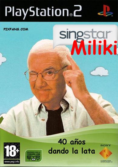 SingStar con las canciones de los Payasos de la Tele (las de toooooda la vida) cantadas por Miliki