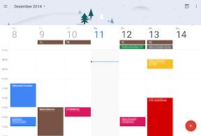 Google Kalender App (auf dem Nexus 9)