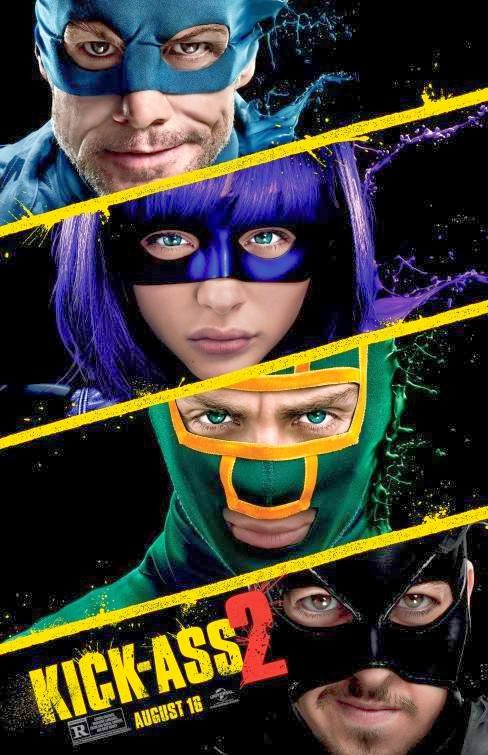 Poster Of Kick-Ass 2 (2013) Full Movie Hindi Dubbed Free Download Watch Online At Alldownloads4u.Com
