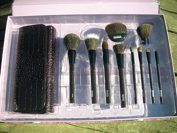Kirkland Signature Cosmetic Brush Set 10