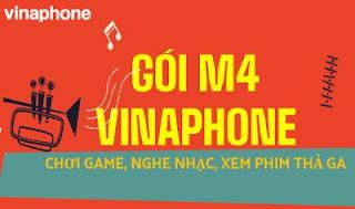 Gói  M4 VinaPhone Chơi game Liên Quân Mobile miễn phí, Tặng 6GB lên mạng