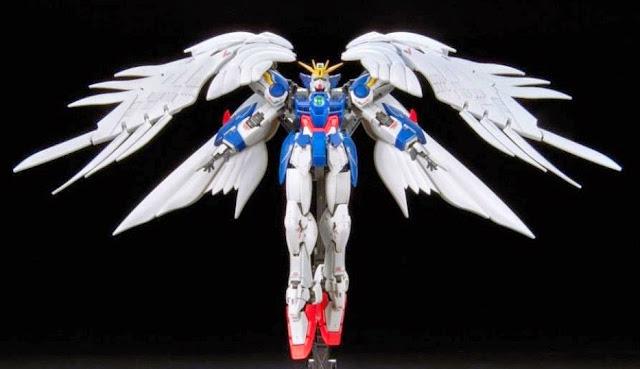 Wing Gundam Zero Endless Waltz RG 1/144 chất lượng bố trí màu sắc chưa từng có