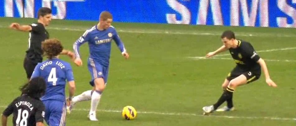 Torres, Chelsea - Wigan