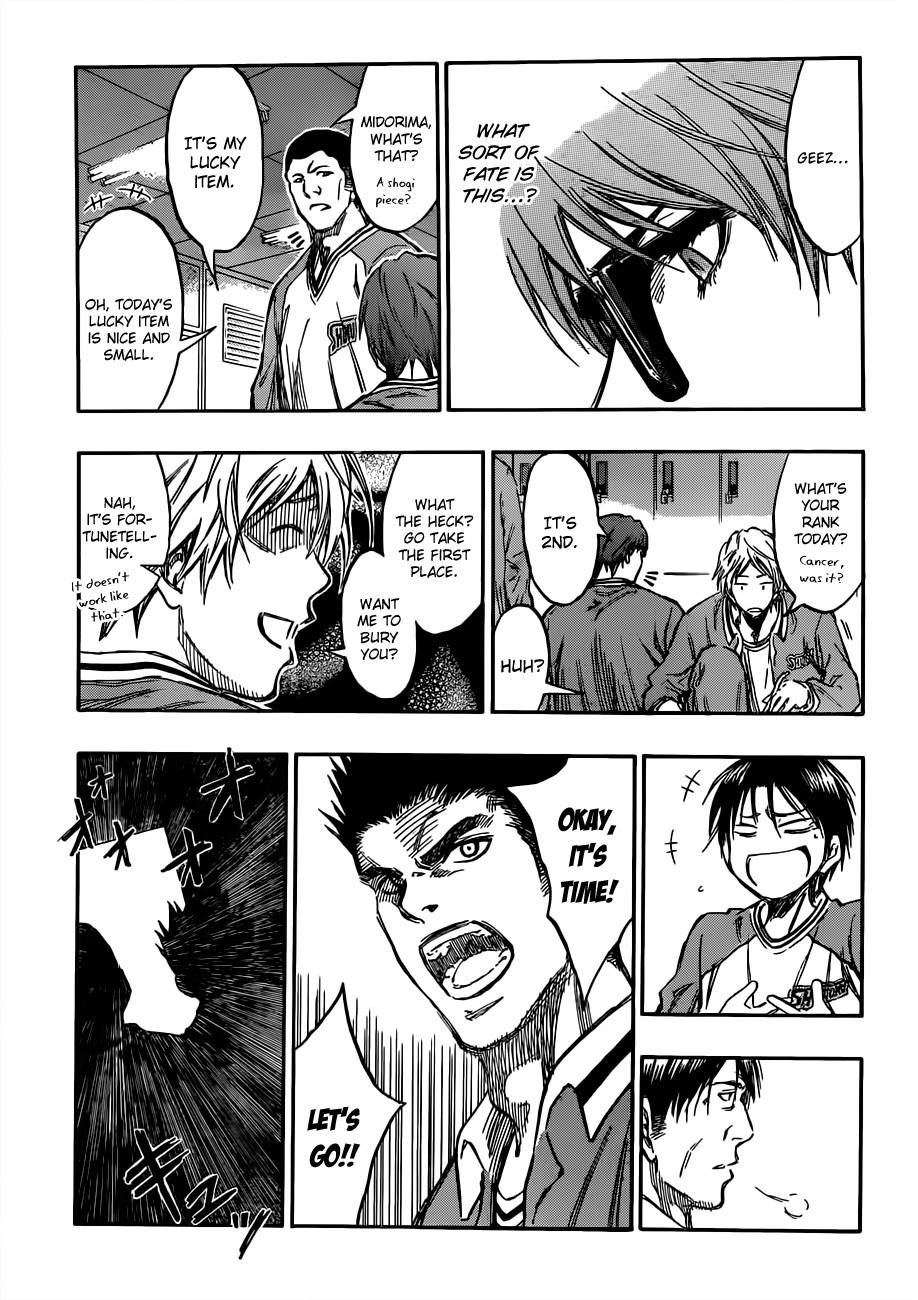 Kuroko no Basket Manga Chapter 175 - Image 03