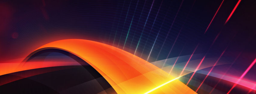 Digital layers facebook cover