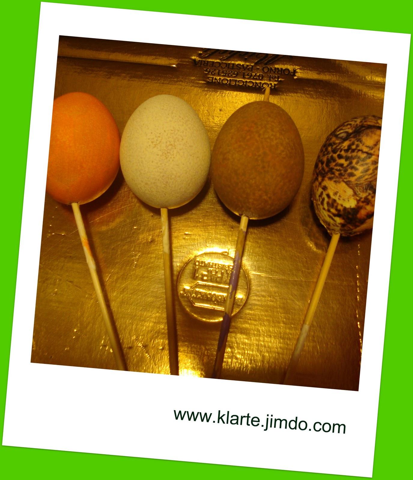Guardachedolci le uova di pasqua decorate 2 - Uova di pasqua decorati a mano ...