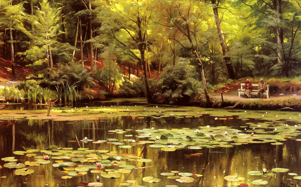 Peder Mork Monsted - Waterlilies 1920