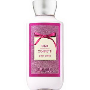 Dưỡng thể bath & body works pink confetti lotion hàng Mỹ xách tay