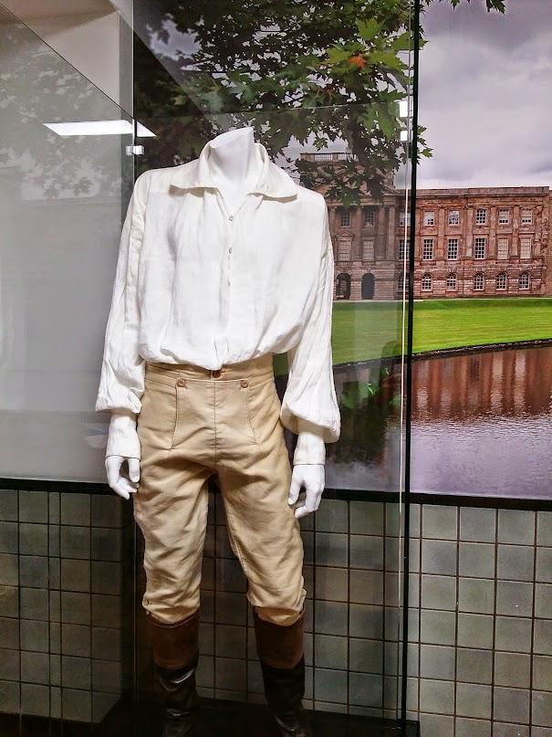 «La» chemise de Monsieur Darcy/Colin Firth