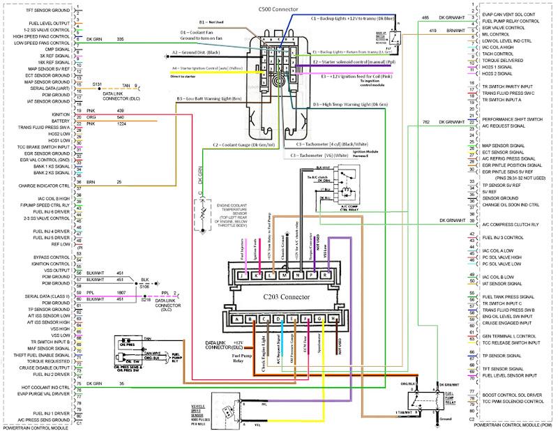 3800 ac wiring diagram  pennock's fiero forum