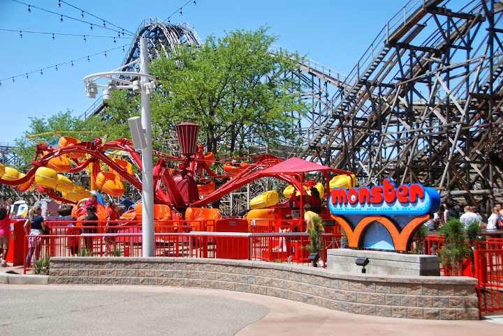 The Monster at Cedar Point. From The Complete Guide to Visiting Cedar Point