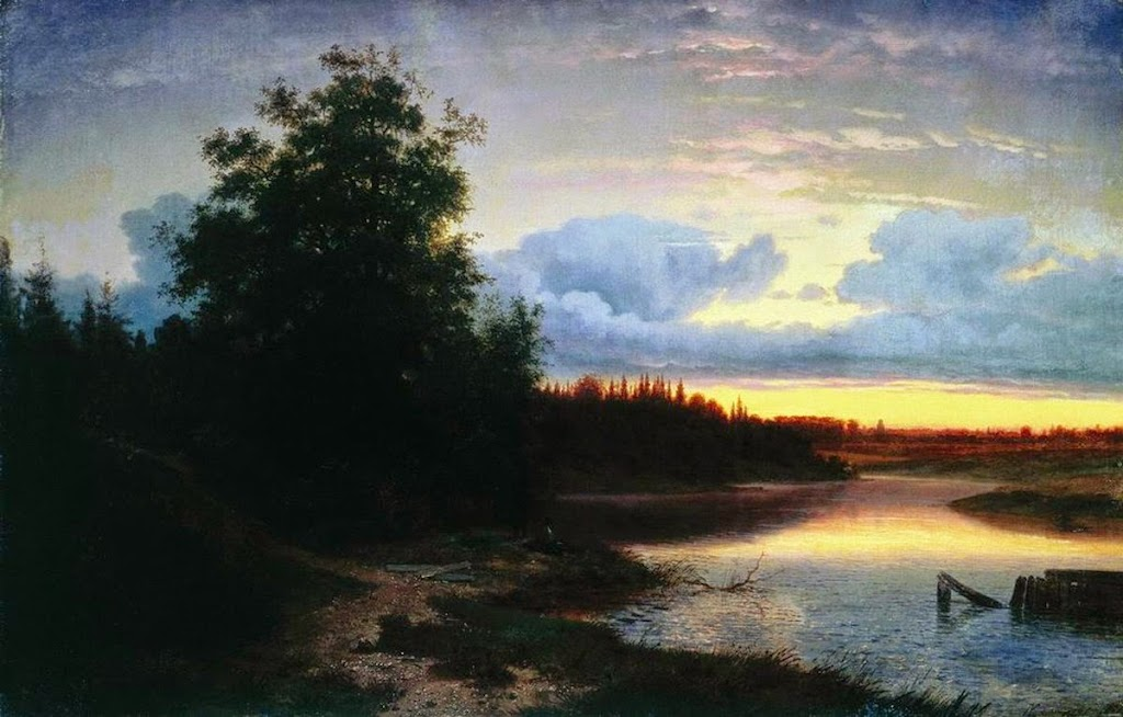 Lev Kamenev - Night on the River Mologe