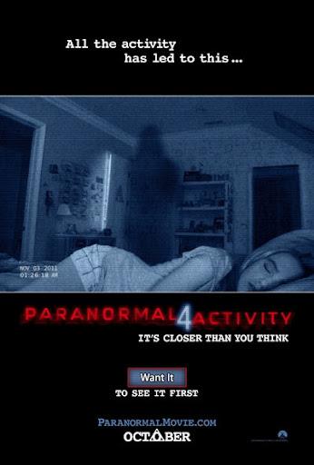 Actividad Paranormal 4 Online