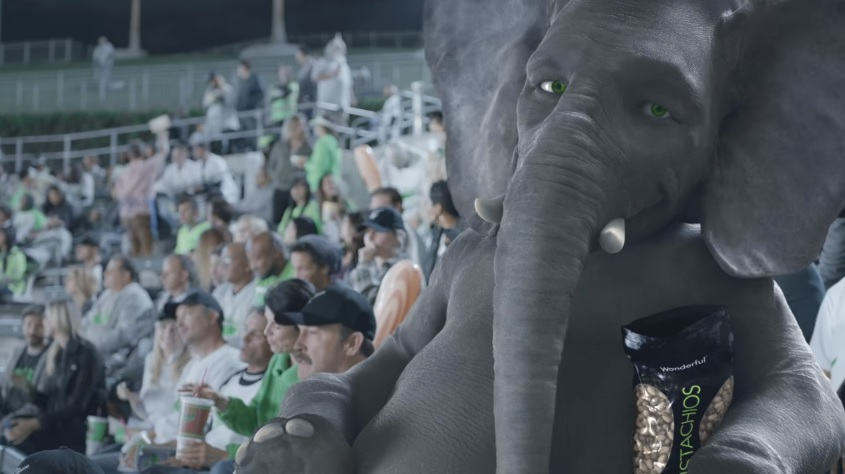 Wonderful Pistachios Get Crackin' Ads with Ernie the Elephant Voiced Spots by John Cena