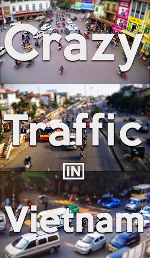 Crazy Traffic in Vietnam - an unbelievable video
