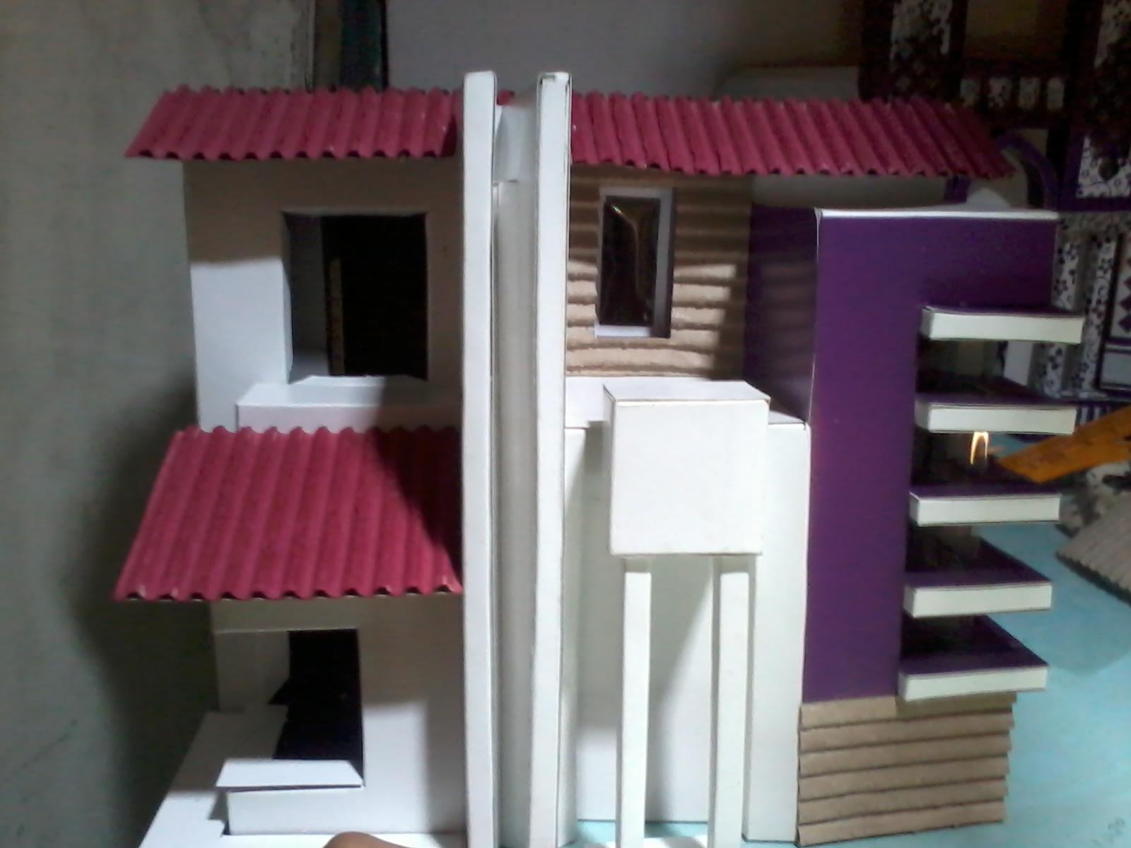 Cara Membuat Atap Rumah Dari Stik Es Krim