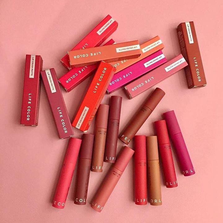 sonkem lìLife Color Lip Crush Matte