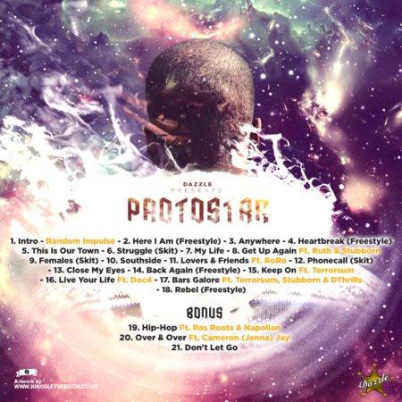 Dazzle - Protostar (Back)