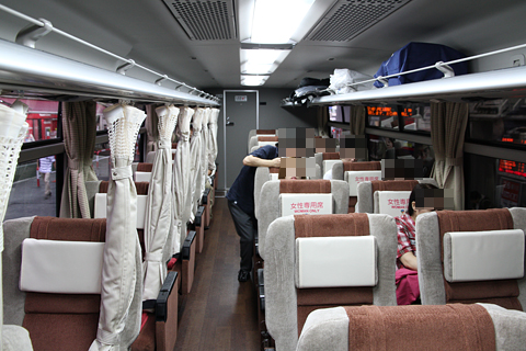 京王電鉄バス 長野線 プライムシングル仕様車 K51205 車内