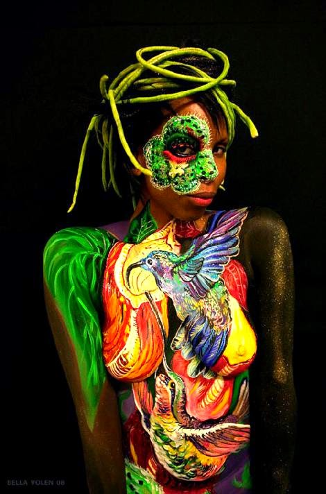 FINE ART BODY PAINTING by Professional Fine Artist amp Awards Winner
