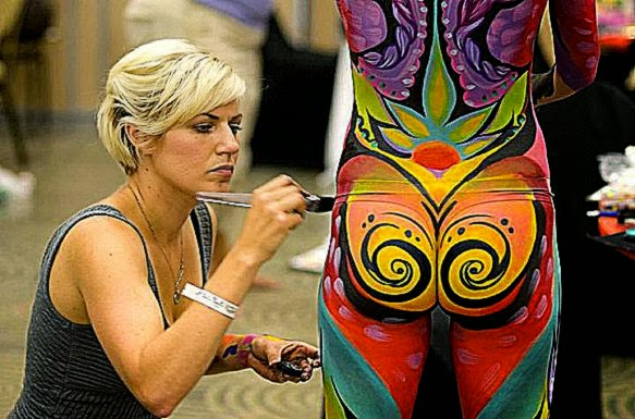 Body Art with Varied Style and Meaning   Artistic Line
