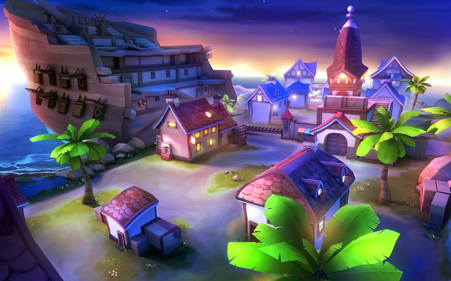 Loạt hình nền dễ thương của game bắn súng AvatarStar - Ảnh 5