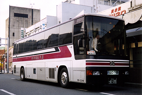 阪急バス「ふくふく号」 89-2249