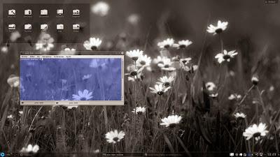 Iconos blancos en Kubuntu