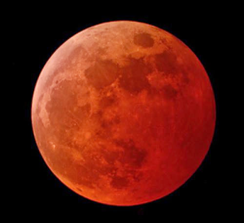 Blood Moon Eclipses And Second Coming