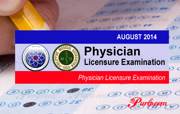 august 2014 physician licensure exam full results