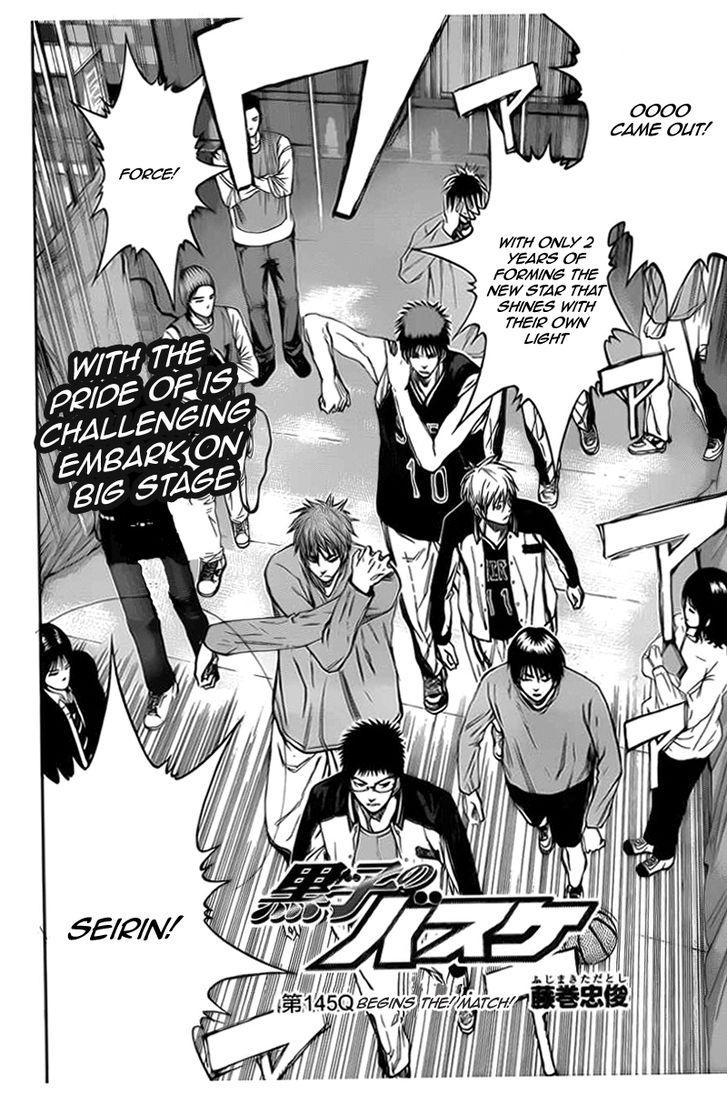 Kuroko no Basket Manga Chapter 145 - Image 06