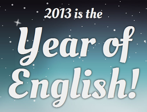 Make 2013 the Year of English!