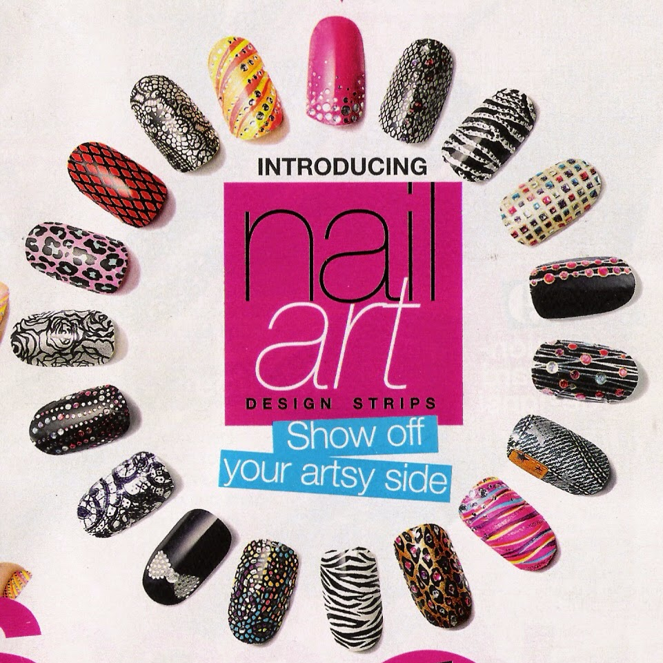 nail art strips sally hansen