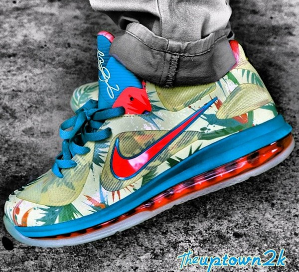 ... Nike LeBron 9 Low LeBronold Palmer Glows in the Dark