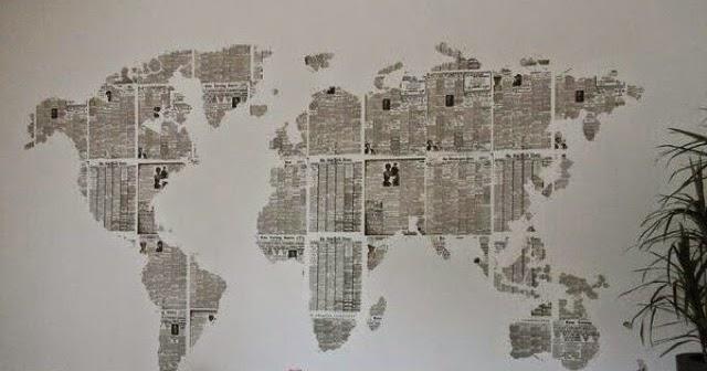 Decorando sobre os jornais