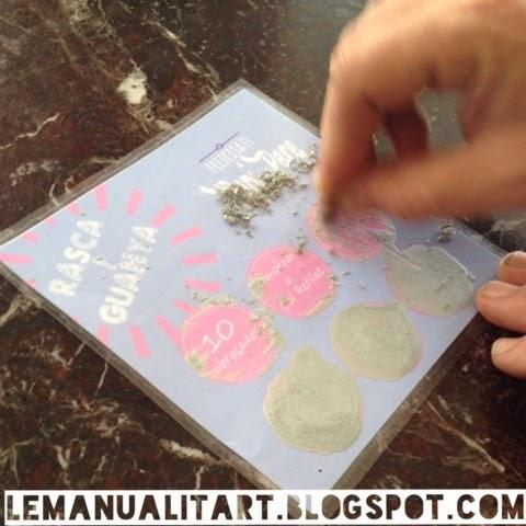 regalos originales: como hacer pintura rasca y gana casera