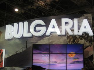 Bulgaria pavilion at the World Travel Market in London