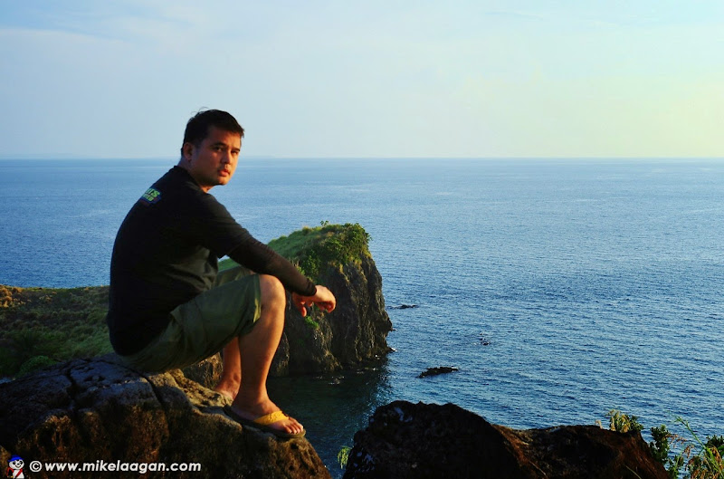 Mike Laagan at Sambawan Island