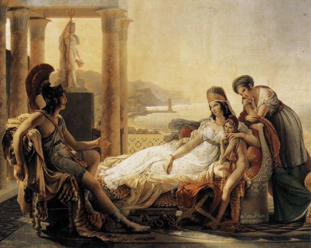 Pierre-Narcisse Guerin - Dido and Aeneas