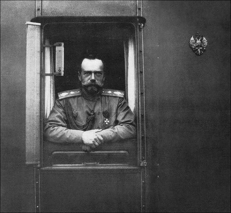Император Николай II во Львове