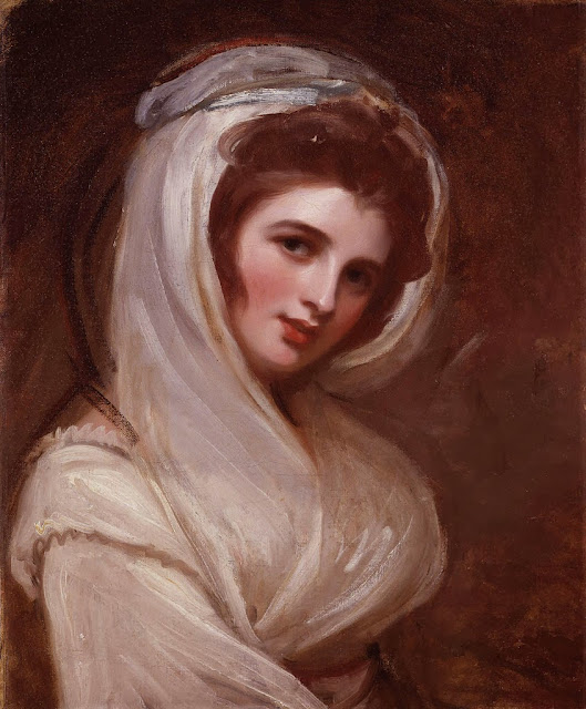 George Romney - Emma, Lady Hamilton
