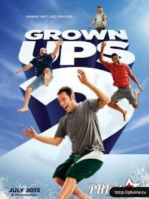 Phim Những Đứa Trẻ To Xác 2 - Grown Ups 2 (2013)