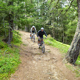 Enduro Trail-Tour Tarscher Alm 18.08.14