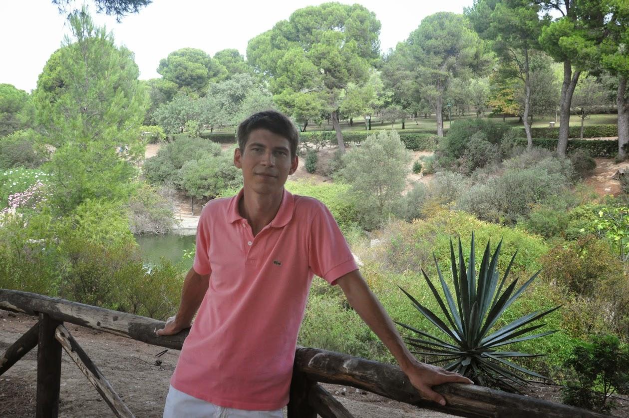 Я в парке Кальяри